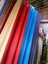 Rideaux multicolores