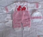 Pull over et ensemble bébé pure coton et pure laine d'origine turque pour une meilleure protection